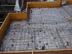東京都で戸建住宅の基礎工事�A