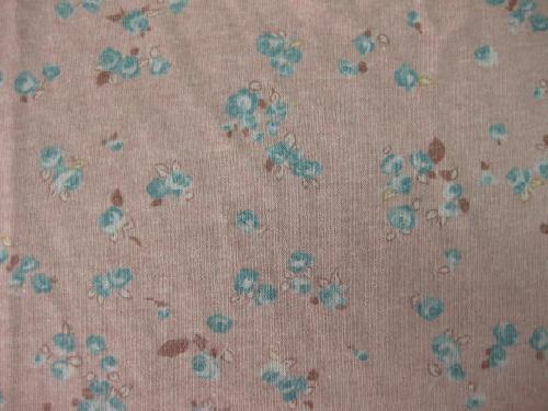 プリント天竺 花柄 ピンク M3181
