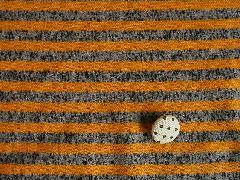 霜降りボーダージャガード  オレンジ M5939