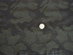 ジャガード カモフラージュ ブラック M7381