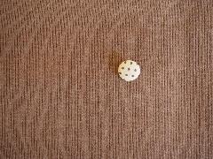 アクリル綿テレコ ブラウン M8173