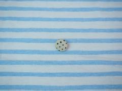 手書き風ボーダー ブルー M8840