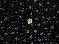 花柄×ドット クロ 512333