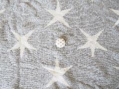ジャガード グレー杢星柄 512687