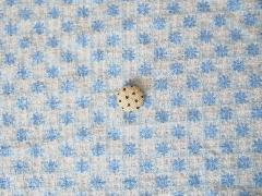 花柄 ブルー×オフ 512909