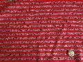 霜降りボーダージャガード 赤 M5941