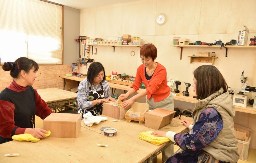 女性目線で生活に役立つDIY教室開催