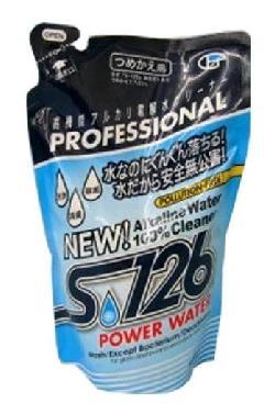 パワーウォーター S-126         (高機能アルカリ電解洗浄水 500ml詰め替えパック)