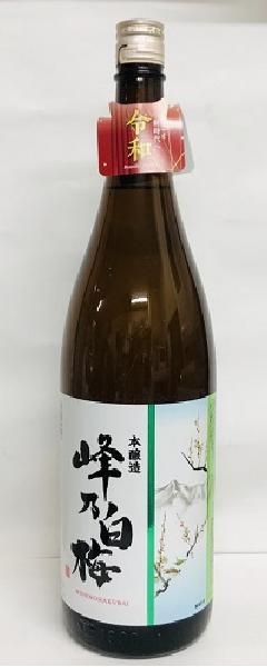 峰乃白梅 本醸造 1800ml