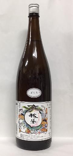 桃の滴 しぼりたて 特別純米生原酒 1.8L
