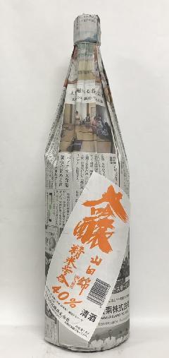 瀧澤 新聞の酒 純米大吟醸1800ml