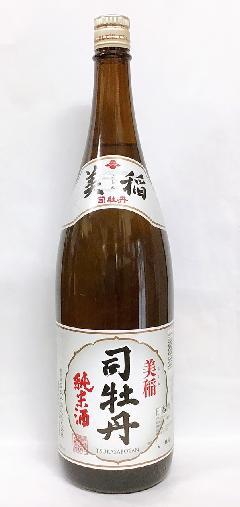 司牡丹 美稲 純米酒 1.8L