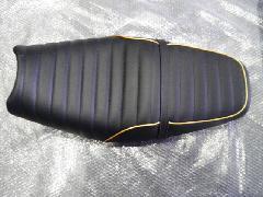 カワサキZZR1400シート張替え