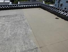 八幡山マンションでの防水塗装例