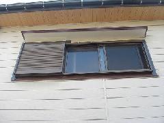 戸塚区 木製雨戸からアルミ製雨戸へ交換