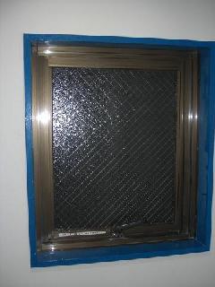南区 窓ガラス交換