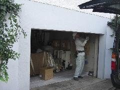 横浜市保土ヶ谷区 車庫シャッター工事