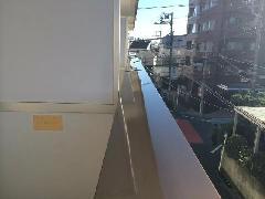 横須賀市 マンション ベランダ 手摺工事