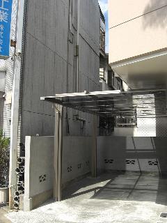 東京都世田谷区 カーポート 新設工事