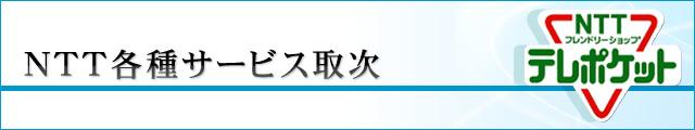 NTT各種サービス取次