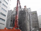 名古屋市中区 商業施設の解体工事