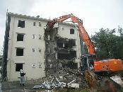 愛知県三河 公務員宿舎 解体工事