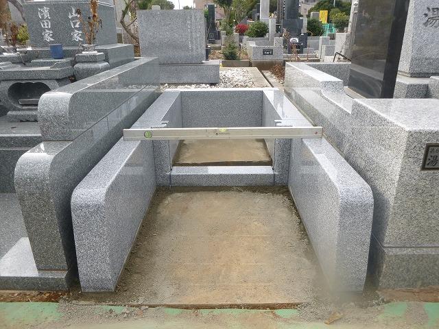 八柱霊園 墓石工事 墓所工事
