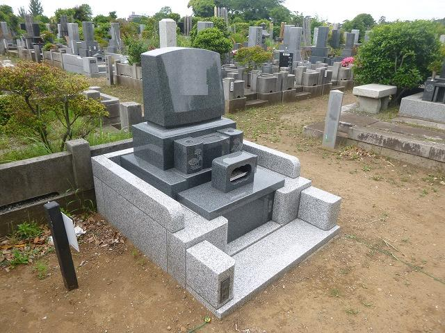 八柱霊園 2�u 洋型 墓石 墓所