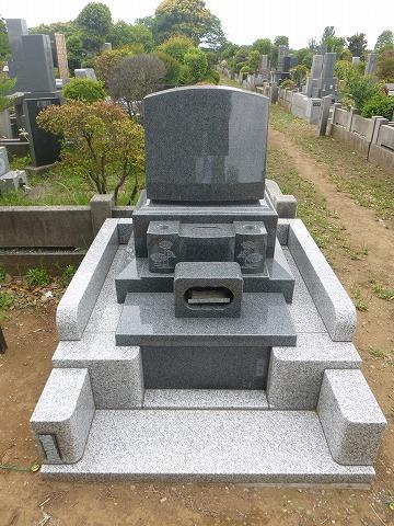 八柱霊園 墓石 工事