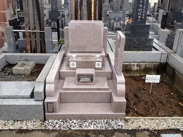 かすかべ霊園 DBOX 墓石 工事