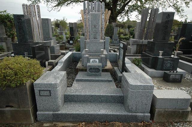 八柱霊園 墓所 リフォーム