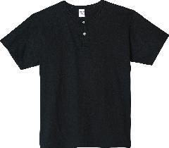 Printstar 00104-CHN ヘビーウエイトヘンリーネックTシャツ