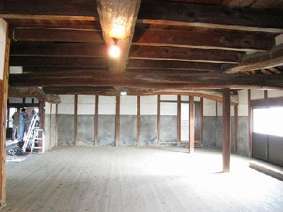 松の床板(厚み1寸→3.03cm)