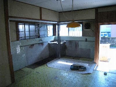 キッチン(いわゆる流し台)解体