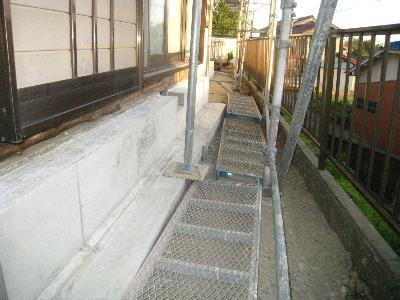 鉄筋コンクリート基礎補強