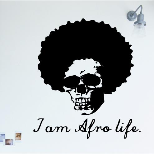 【ステッカー】 big afro