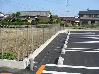 コンクリートブロック・フェンス設置 江南市