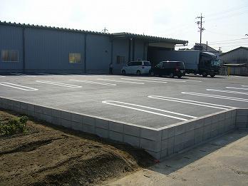 駐車場工事 アスファルト舗装 江南市