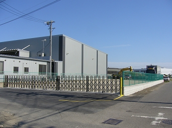 フェンス設置 大口町