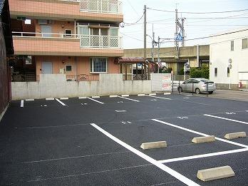 駐車場工事 アスファルト舗装 一宮市