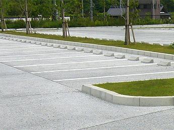 駐車場工事 コンクリート舗装 江南市