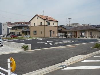 駐車場工事 アスファルト舗装 稲沢市