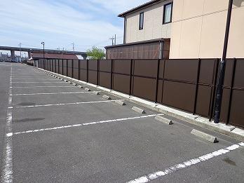 駐車場フェンス設置 一宮市