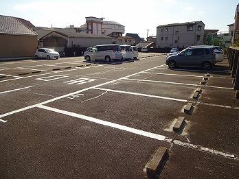 駐車場白線引き工事 稲沢市