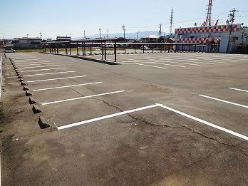 駐車場ライン工事 大垣市