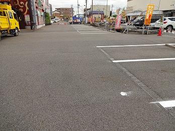 駐車場ライン工事 あま市