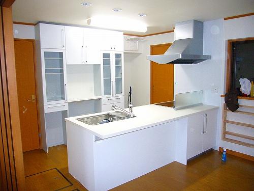 システムキッチン 設置例01