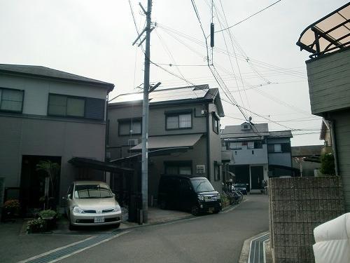 大阪府 太陽光設置 スレート使用