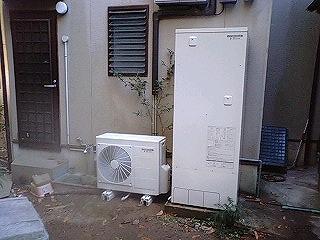 電気温水器〜エコキュートへ