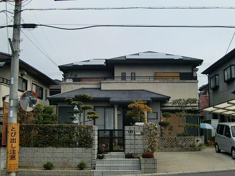 京都府 太陽光設置 スレート使用